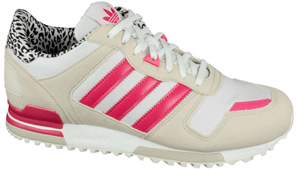 adidas zx 700 w girls sneaker white beige pink zebra. Black Bedroom Furniture Sets. Home Design Ideas
